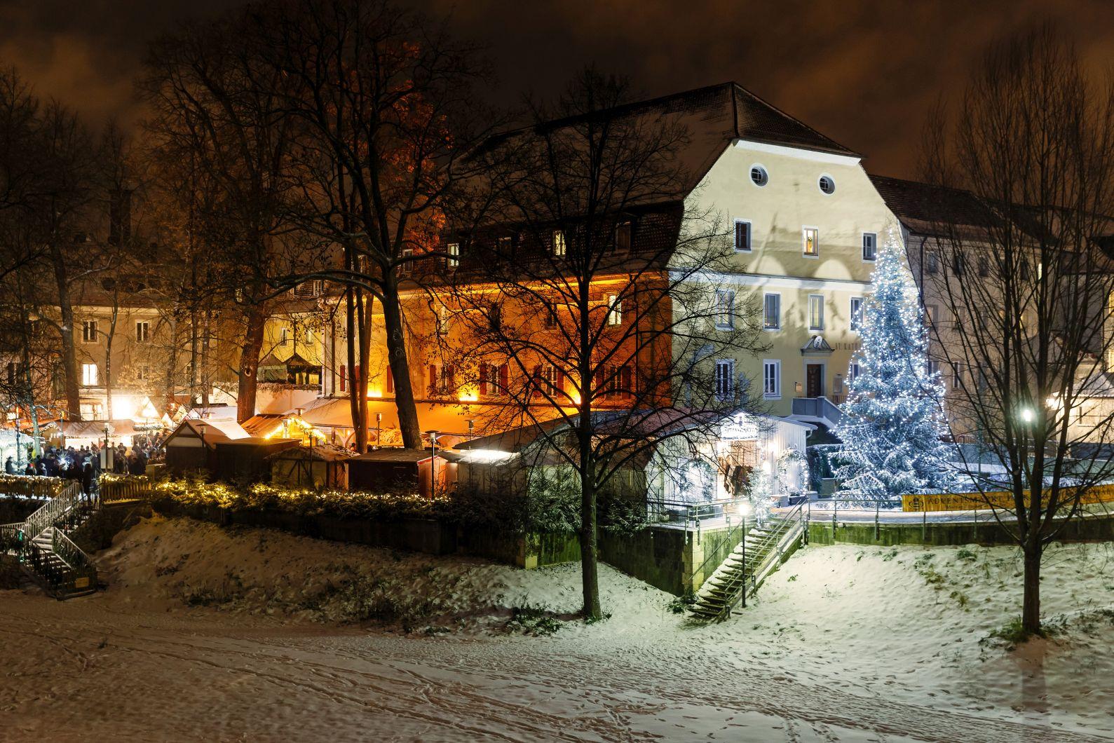 Spital Weihnachtsmarkt Regensburg